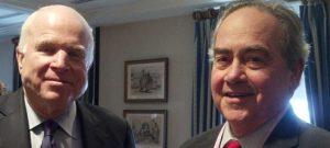 Senator John McCain and Igal Sharret