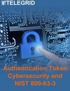 Authentication Token Cybersecurity and NIST 800-63-3