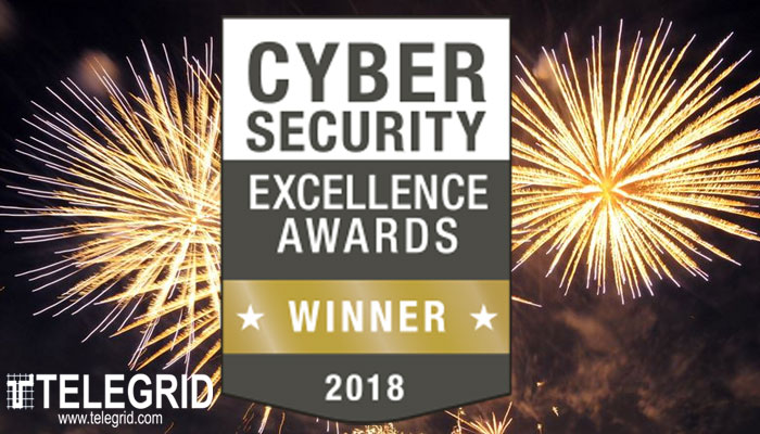 Cybersecurity Excellence Award Winner